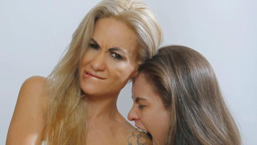 Simone Starr e Britt Young