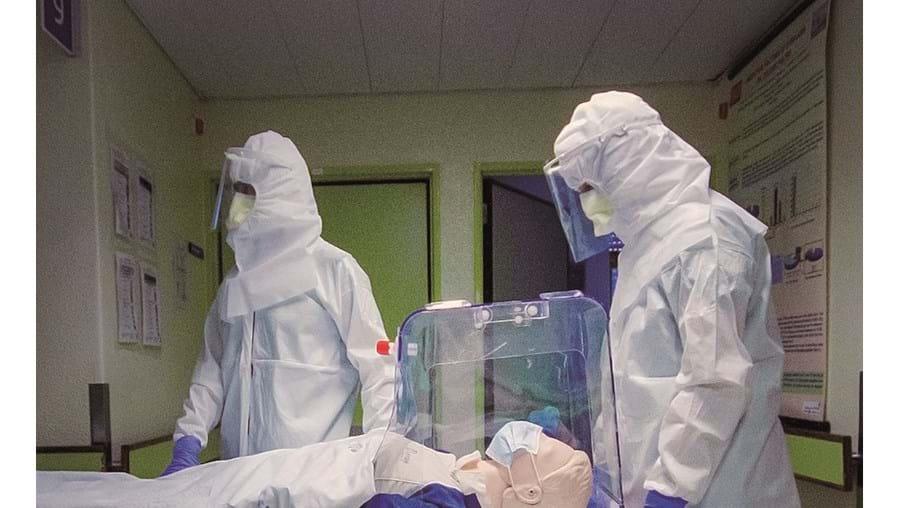 Nova invenção evita a dispersão de secreções respiratórias