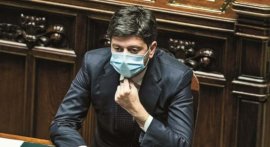 Speranza, ministro da Saúde
