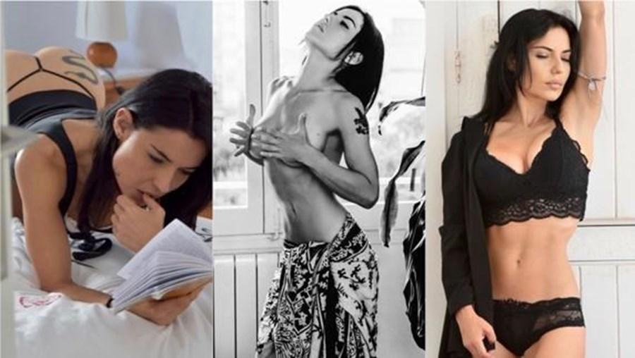 Mari Pajares conta sexo com futebolista português