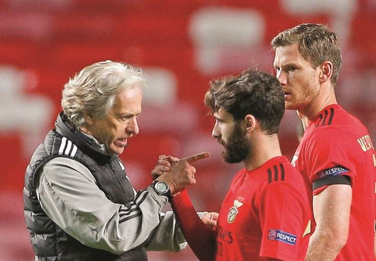 Jorge Jesus disse a Rafa que é com jogadores como ele que vai lutar pelo título