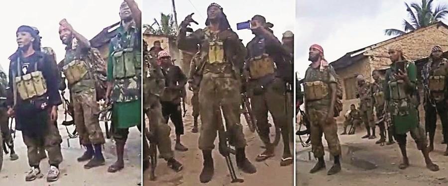 Jihadistas controlam várias localidades, incluindo Mocímboa da Praia, sede de distrito