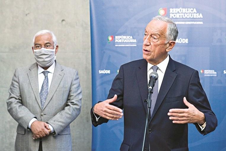 Marcelo Rebelo de Estado explicou, no final da reunião com o Infarmed, a importância da renovação do Estado de emergência