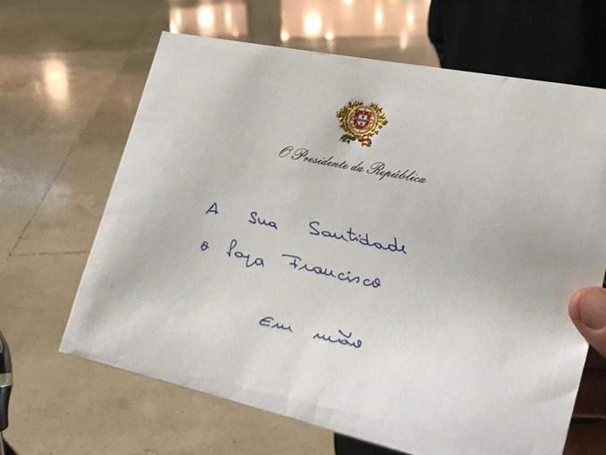 Carta de Marcelo Rebelo de Sousa
