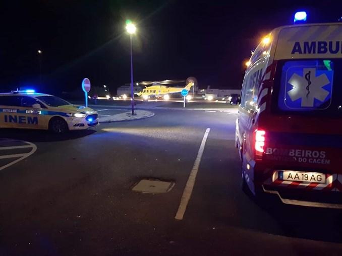 Atropelamento provoca dois feridos em Santiago do Cacém