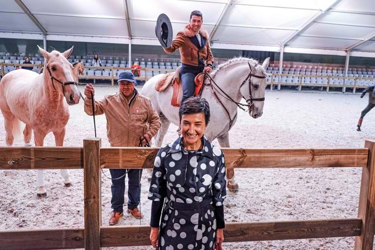 Ministra da Agricultura, Maria do Céu Albuquerque, esteve na feira em 2019 e este ano também participará