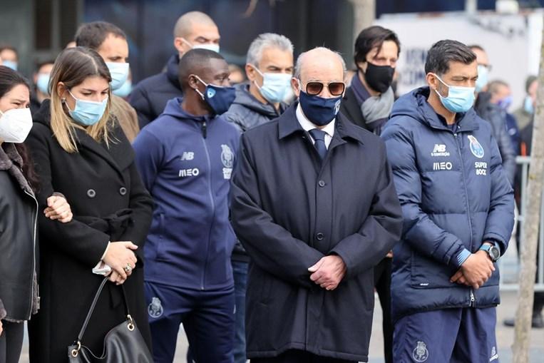 Pinto da Costa na homenagem a Reinaldo Teles, no Estádio do Dragão