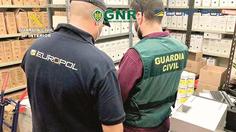 Operação a nível europeu envolveu colaboração de várias polícias