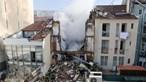 Incêndio em prédio no centro de Lisboa apenas causou danos materiais no Hospital de Santa Marta