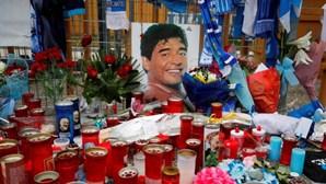 Reveladas mensagens de um grupo de WhatsApp de familiares de Maradona e pessoal clínico
