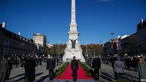Cerimónia da Restauração da Independência assinalada sem discursos devido à pandemia
