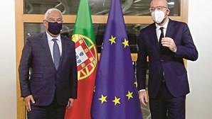 Aprovação da bazuca europeia sem plano B, diz António Costa