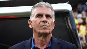 Carlos Queiroz deixa seleção da Colômbia