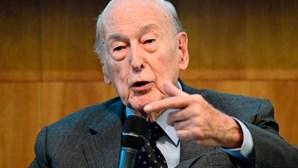 Morreu o ex-presidente francês Giscard d'Estaing. Tinha 94 anos