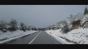 Neve, chuva e frio: depressão Dora fechou escolas e cortou estradas