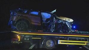 Jovem de 21 anos morre em violento acidente na A1 em Santarém