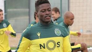 Nuno Mendes já treina sem dores