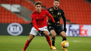 Benfica empata na Bélgica na última jornada da fase de grupos da Liga Europa