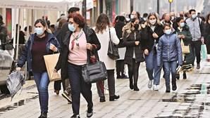 Cai para 25 o número de concelhos em risco extremamente elevado