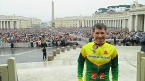 Morreu o ciclista-bombeiro recordista do mundo Carlos Vieira