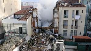 Morreu pai que tentou salvar filho dos escombros após explosão em prédio de Lisboa