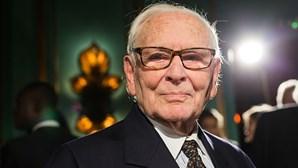 Morreu o estilista francês Pierre Cardin aos 98 anos