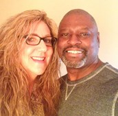 Lizanne Jennings com o marido