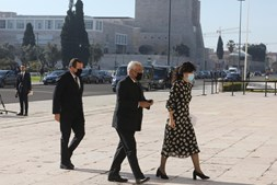 António Costa à chegada ao Mosteiro dos Jerónimos