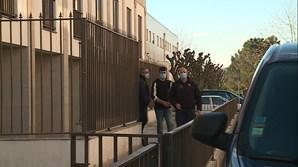 Nuno Novais, de 29, a sair do tribunal ontem após a condenação