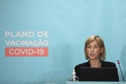 Marta Temido na apresentação do plano de vacinação da Covid-19