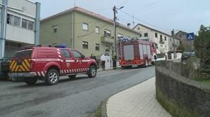Explosão de botija de gás em habitação faz três feridos na Guarda
