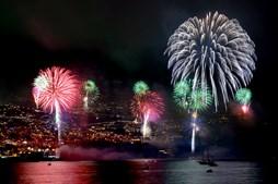 CMTV transmite fogos de artifício na Madeira e Açores