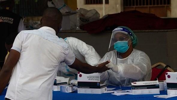 Angola anuncia recorde de novos casos de Covid-19 com 392 infeções em 24 horas
