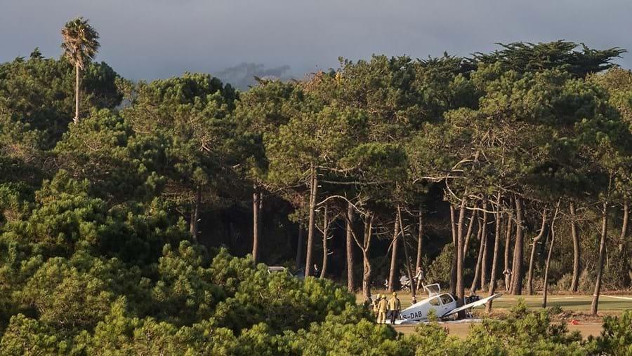 Avioneta aterrou de emergência no campo de golfe dos Oitavos, em Cascais