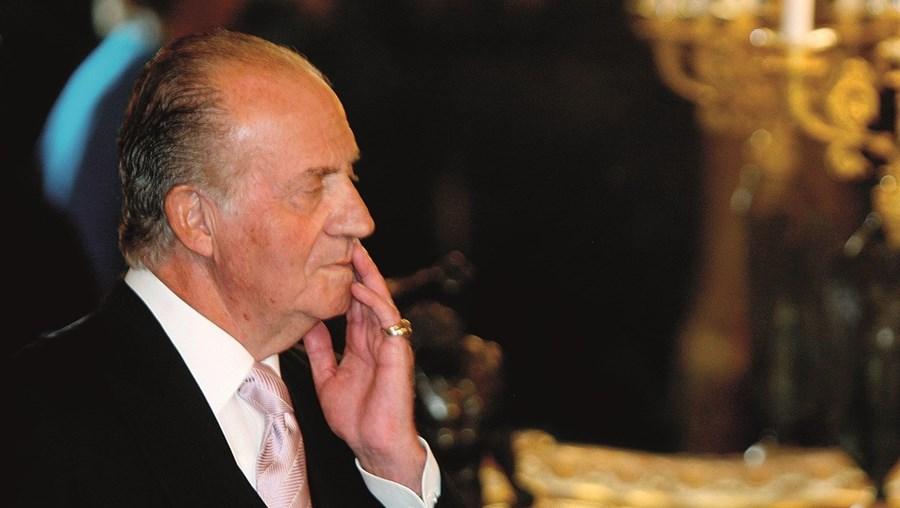 """Juan Carlos disse em agosto que a sua ausência era apenas """"um parêntesis"""""""