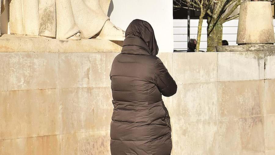 Elisabete Lamas, à saída do tribunal, após a leitura do acórdão