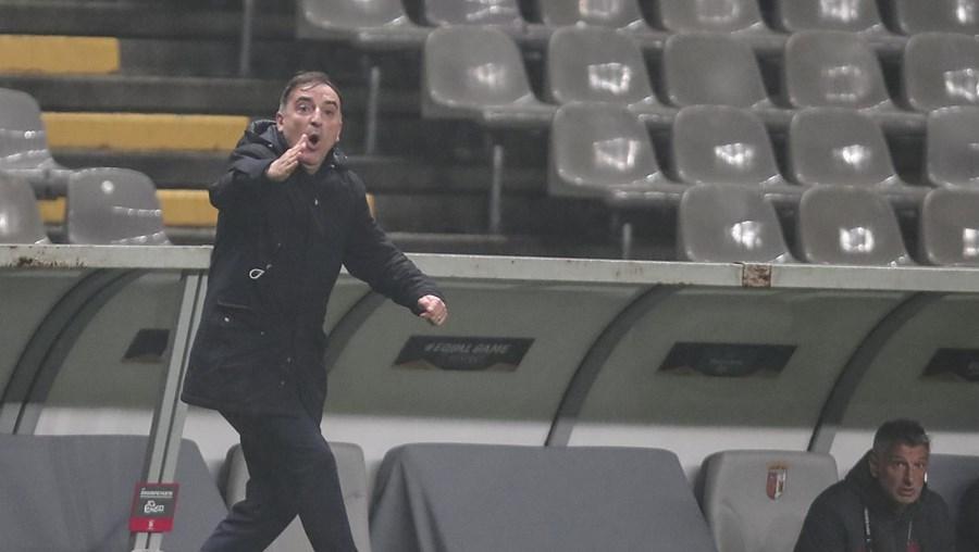 Carlos Carvalhal, treinador do Sp. Braga