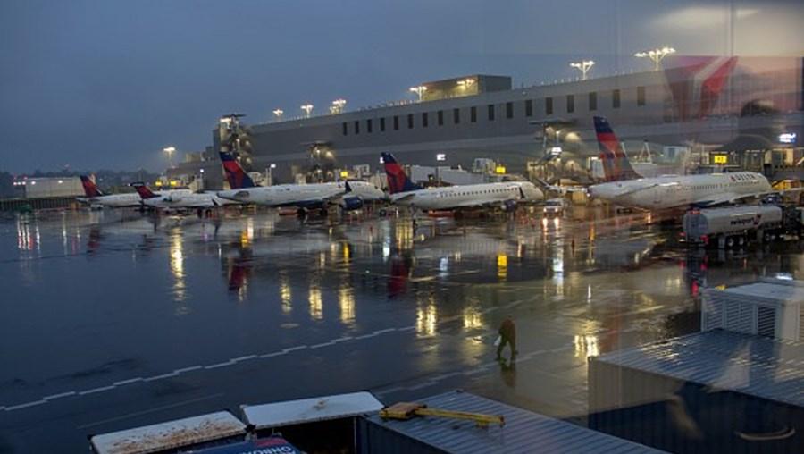 Terminal do Aeroporto La Guardia, em Nova Iorque