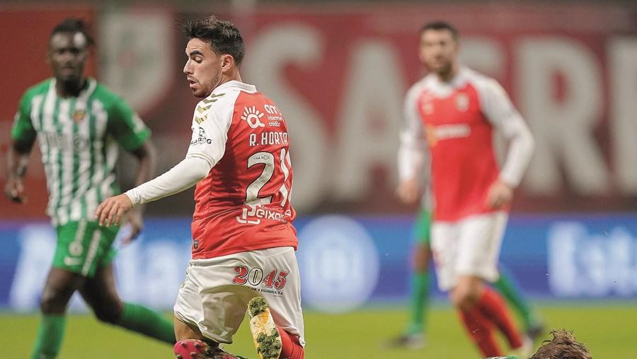 Ricardo Horta, marcou o primeiro golo do Sp. Braga
