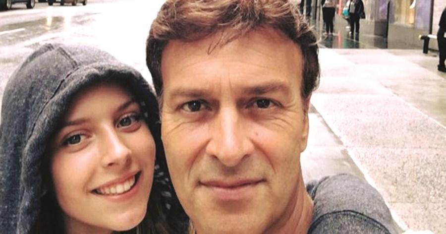 Selfie de Sara e Tony Carreira