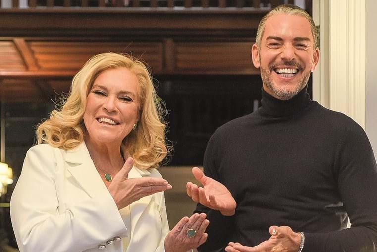 Teresa Guilherme e Cláudio Ramos juntos em 'Big Brother'