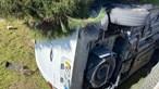 Despiste deixa condutor ferido após carrinha cair para jardim de moradia em Santa Maria da Feira