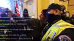Polícia apanhado a tirar fotografia com manifestante pró-Trump durante invasão ao Capitólio nos EUA. Veja as imagens