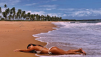 Beleza e sedução de Catarina Gouveia no Brasil