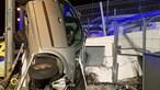 Mulher ferida com gravidade em despiste devido a gelo na EN1 em Santa Maria da Feira