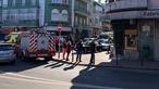 Dois corpos encontrados em prédio na Damaia. PSP da Amadora no local