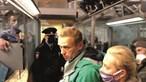 Alexei Navalny detido à chegada a Moscovo