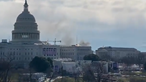Fumo perto do Capitólio em Washington nos EUA obriga a evacuação do edifício. Veja as imagens