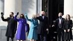 Joe Biden e Kamala Harris chegam ao Capitólio em Washington para a tomada de posse. Veja em direto