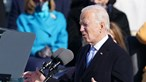 """""""A vontade do povo foi ouvida"""": O discurso de Joe Biden na tomada de posse onde """"democracia"""" é a palavra de ordem"""